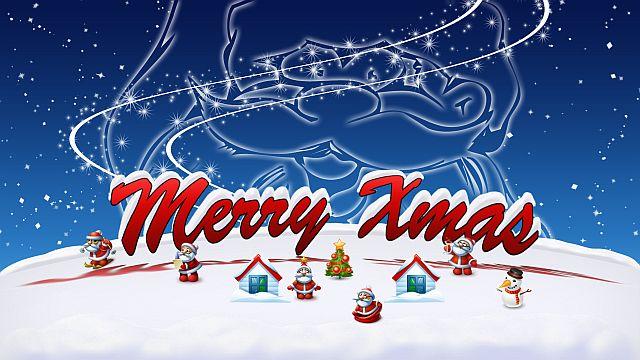 merry xmas - frohe weihnachten